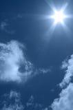 jaskrawy słońce Fotografia Royalty Free