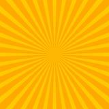 Jaskrawy starburst sunburst tło z stały bywalec promieniuje li ilustracja wektor