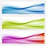 Jaskrawy swoosh wykłada chodnikowiec stopek szablony Fotografia Royalty Free