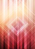Jaskrawy tło dla plakatów i ulotek z liniami i projekta elementem Wektoru zamazany abstrakcjonistyczny tło Obraz Stock