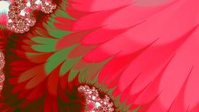 Jaskrawy tło z falistym różowym włosy kształtuje, tropikalnego abstrakcjonistycznego obrazka karmelu nieregularny wzór dla sztand Zdjęcie Stock