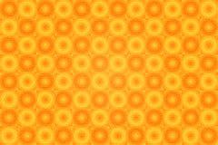 Jaskrawy tło z okręgami - mozaika Obrazy Royalty Free