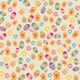 Jaskrawy tło z Wielkanocnym jajkiem Fotografia Stock