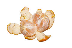 Jaskrawy tangerine Obraz Royalty Free