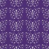 Jaskrawy wzór motyle Obraz Royalty Free