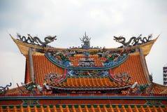 jaskrawy wzgórza Singapore świątynia Zdjęcia Royalty Free