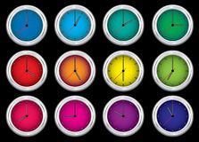 jaskrawy zegarek Obraz Stock