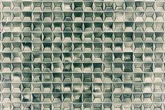 Jaskrawy - zieleni płytki fotografia royalty free