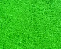 Jaskrawy - zielona ścienna tekstura Zdjęcia Royalty Free
