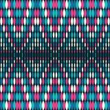 Jaskrawych barwionych okregów geometryczny bezszwowy wzór ilustracji