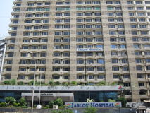 Jaslok Hospital in Mumbai, India Royalty Free Stock Photo
