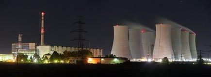 Jaslovske Bohunice power plant, Slovakia royalty free stock photo