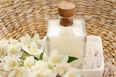 Jasmin bath Royalty Free Stock Photo