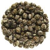 Jasmin Pearls Green Tea från Kina royaltyfria bilder