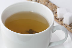 Jasmin tea and cookies Royalty Free Stock Photography
