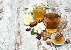 Jasmin tea Stock Photos