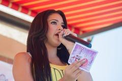 Jasmin Villegas Lizenzfreies Stockfoto