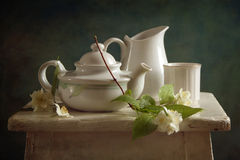 jasmine τσάι Στοκ φωτογραφίες με δικαίωμα ελεύθερης χρήσης