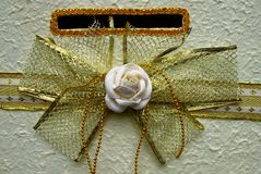 Jasmine bow Royalty Free Stock Image