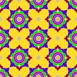 Jasmine colorful pattern Stock Photo