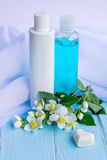 Jasmine essence perfumed products Royalty Free Stock Photography
