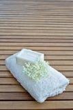 Jasmine flower soap Stock Image