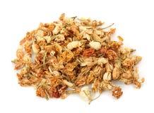 Jasmine flower tea royalty free stock photo