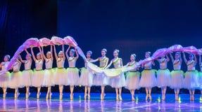 Jasmine Flowersï ¼ ˆCatch Dragonï ¼ ‰ - Chinees Nationaal Ballet royalty-vrije stock fotografie