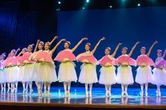 Jasmine Flowersï ¼ ˆcollectiveï ¼ ‰ - κινεζικό εθνικό μπαλέτο Στοκ φωτογραφία με δικαίωμα ελεύθερης χρήσης