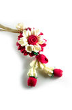 Jasmine garland made from soap Royalty Free Stock Image