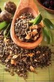 Jasmine green dry tea Royalty Free Stock Image