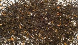 Jasmine green tea leaves Stock Photo