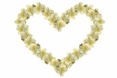 Jasmine heart Stock Photos
