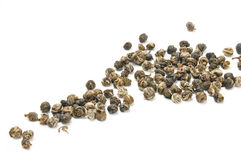Jasmine infused green tea pearls Stock Photography