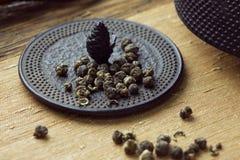 Jasmine pearl tea Royalty Free Stock Photography