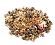 Jasmine pearls green tea red and green rooibos Stock Image