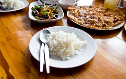 Jasmine rice Royalty Free Stock Images
