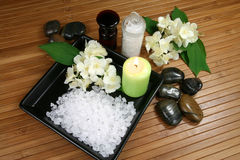Jasmine spa Royalty Free Stock Image