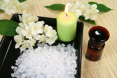 Jasmine spa Royalty Free Stock Images