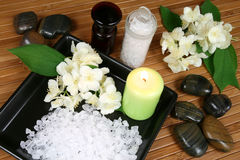 Jasmine spa Royalty Free Stock Photo