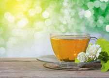 Jasmine Tea arkivbild