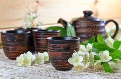Jasmine Tea Royaltyfri Bild