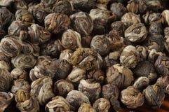 Jasmine tea pearls Stock Image