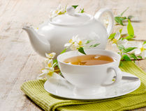Jasmine tea Royalty Free Stock Image