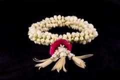 Jasmingirlande von Blumen Lizenzfreies Stockfoto