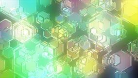 Jasna cząsteczka Obraz Stock