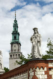 Jasna Gora in the City of Czestochowa Stock Images