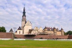 Jasna Gora monastery in Czestochowa Stock Images
