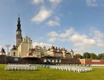 Jasna Gora monastery in Czestochowa Stock Photos