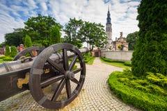 The Jasna Gora monastery in Czestochowa Stock Image